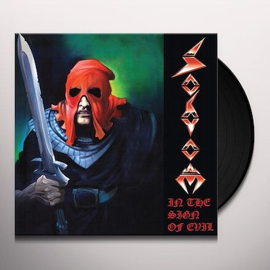 Sodom IN THE SIGN OF EVIL Vinyl Record