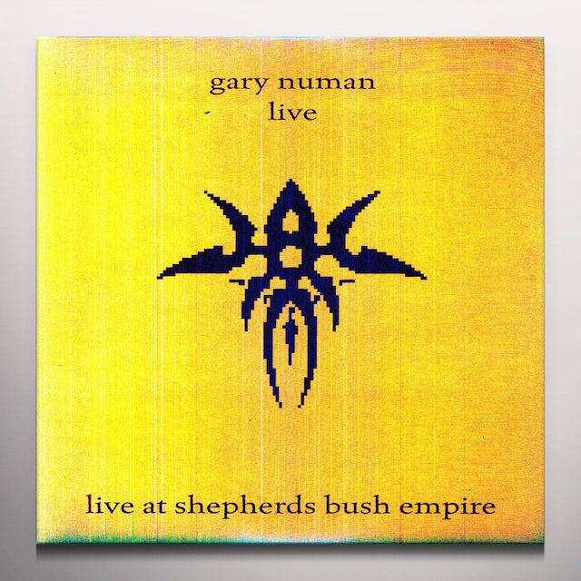 Gary Numan LIVE AT SHEPHERDS BUSH Vinyl Record