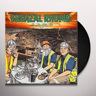 Frenzal Rhomb HI-VIS HIGH TEA (TRANSPARENT ORANGE VINYL) Vinyl Record