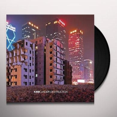 Kink UNDER DESTRUCTION Vinyl Record
