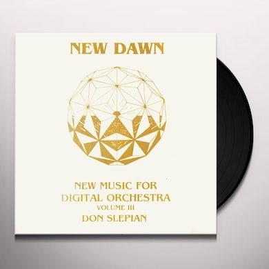 Don Slepian NEW DAWN Vinyl Record