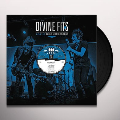 Divine Fits LIVE AT THIRD MAN RECORDS 06-17-2013 Vinyl Record