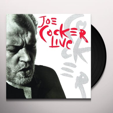 Joe Cocker LIVE Vinyl Record