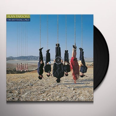 Alan Parsons TRY ANYTHING ONCE Vinyl Record