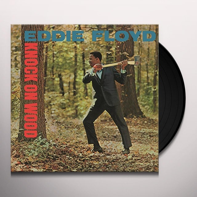 Eddie Floyd KNOCK ON WOOD Vinyl Record - Holland Release
