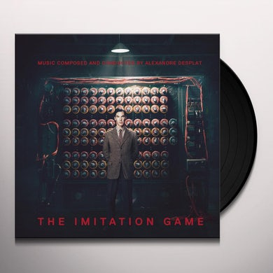 Alexandre Desplat IMITATION GAME / Original Soundtrack Vinyl Record