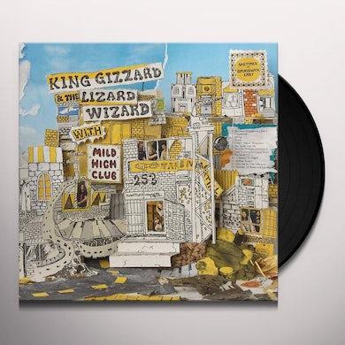 King Gizzard & The Lizard Wizard Sketches Of Brunswick East (LP) (Yellow w/ Blue Splatter) Vinyl Record