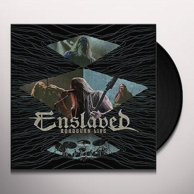 Enslaved ROADBURN LIVE (GREEN VINYL) Vinyl Record