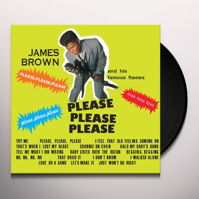 James Brown PLEASE PLEASE PLEASE Vinyl Record