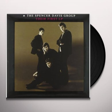 Spencer Group Davis THEIR FIRST LP Vinyl Record