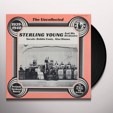 Sterling Young & Orchestra UNCOLLECTED Vinyl Record