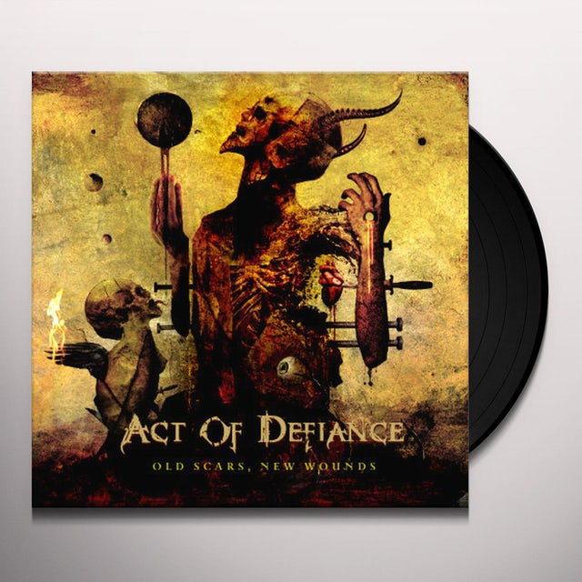 ACT OF DEFIANCE OLD SCARS & NEW WOUNDS Vinyl Record