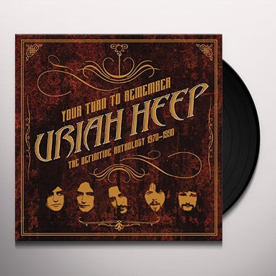 Uriah Heep Your Turn To Remember: The Definitive Anthology 1970-1990 Vinyl Record