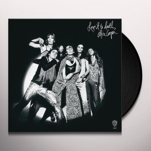 Alice Cooper LOVE IT TO DEATH (ROCKTOBER 2017 EXCLUSIVE) Vinyl Record