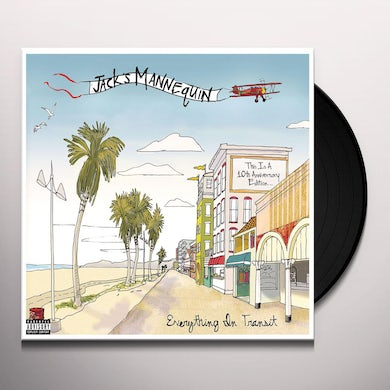 Jack's Mannequin EVERYTHING IN TRANSIT (10TH ANNIVERSARY EDITION) Vinyl Record