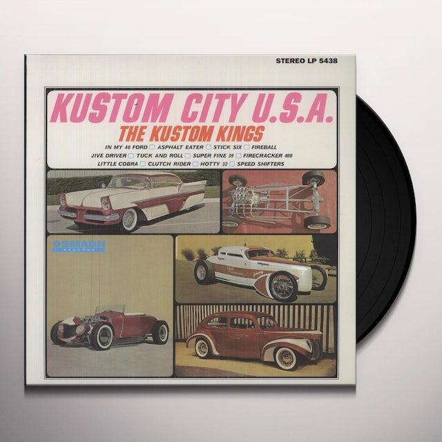 Kustom Kings KUSTOM CITY Vinyl Record