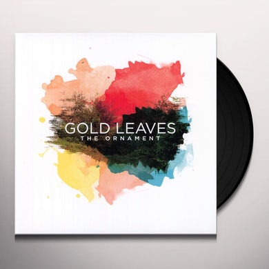 Gold Leaves ORNAMENT Vinyl Record