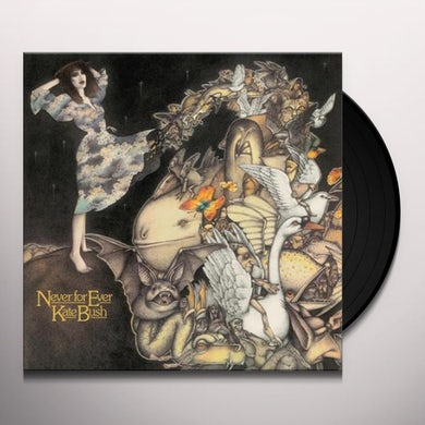 Kate Bush Never for Ever Vinyl Record