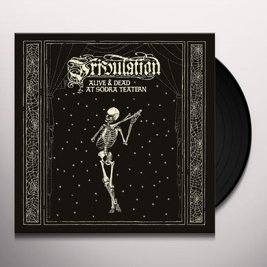 Tribulation ALIVE & DEAD AT SODRA TEATERN Vinyl Record