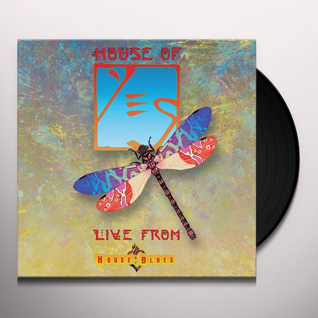 Yes LIVE FROM HOUSE OF BLUES Vinyl Record