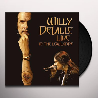 Willy Deville LIVE IN THE LOWLANDS Vinyl Record
