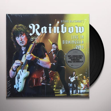 Rainbow LIVE IN BIRMINGHAM 2016 Vinyl Record