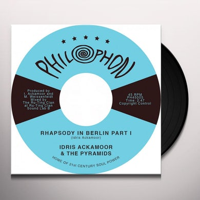 Idris Ackamoor & The Pyramids RHAPSODY IN BERLIN PART 1 AND 2 Vinyl Record