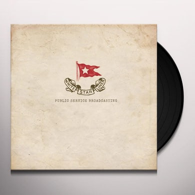 Public Service Broadcasting WHITE STAR LINER Vinyl Record