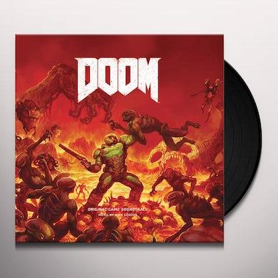 Mick Gordon DOOM - GAME Original Soundtrack Limited Double 180 Gram Red Colored Vinyl Record