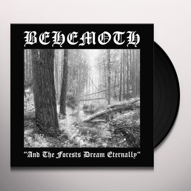 Behemoth & THE FORESTS DREAM ETERNALLY Vinyl Record
