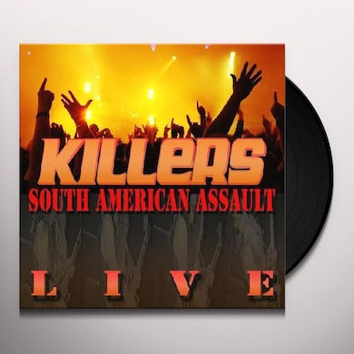 The Killers SOUTH AMERICAN ASSAULT LIVE Vinyl Record
