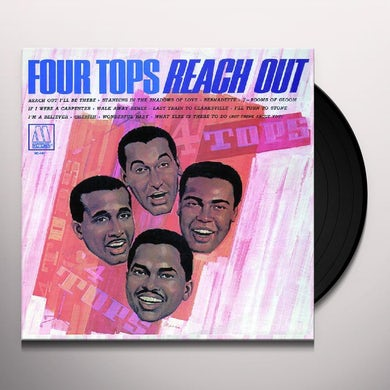 Four Tops REACH OUT Vinyl Record - Holland Release