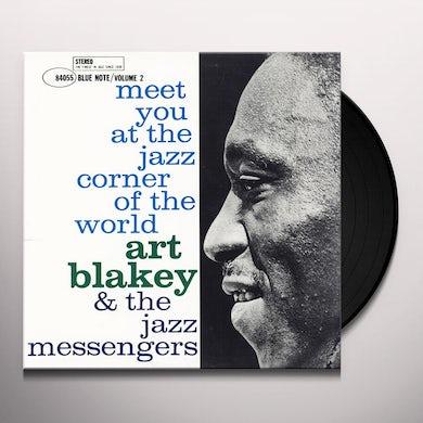 Art Blakey / Jazz Messengers Meet You at the Jazz Corner of the World - Vol 1 (LP) Vinyl Record