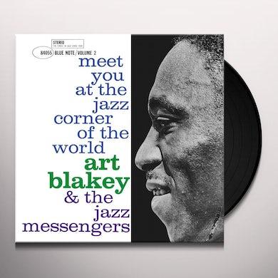 Art Blakey / Jazz Messengers MEET YOU AT THE JAZZ CORNER OF THE WORLD - VOL 2 Vinyl Record