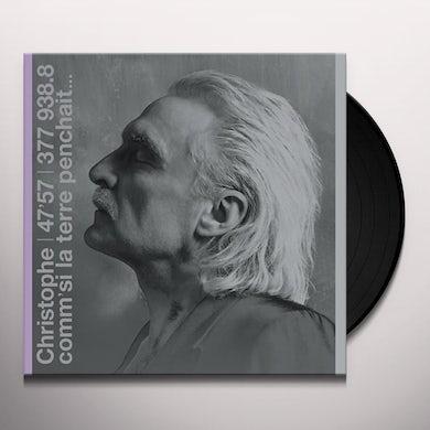 Christophe COMM'SI LA TERRE PENCH Vinyl Record