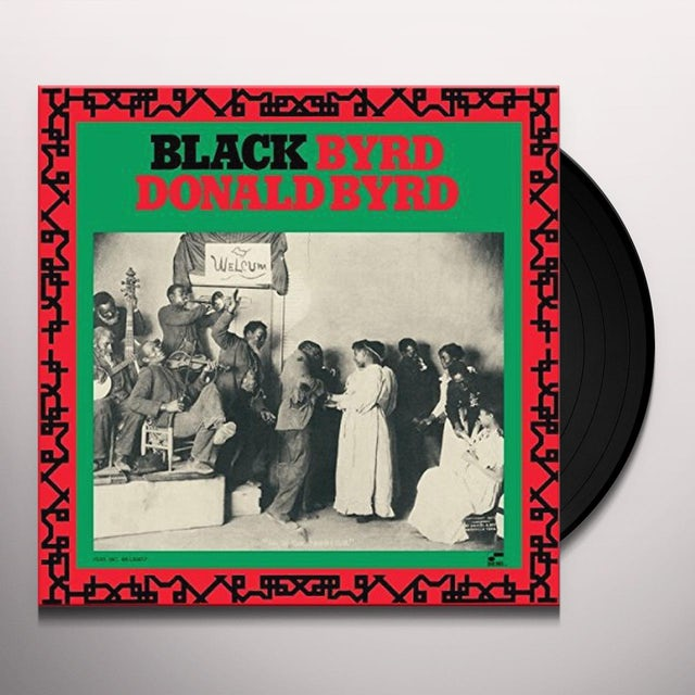 Donald Byrd BLACK BYRD Vinyl Record