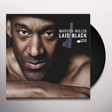 Marcus Miller LAID BLACK Vinyl Record