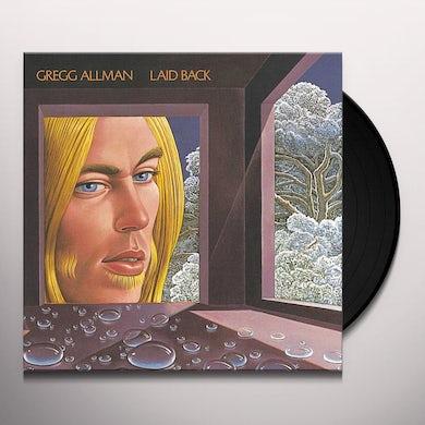 Gregg Allman LAID BACK Vinyl Record