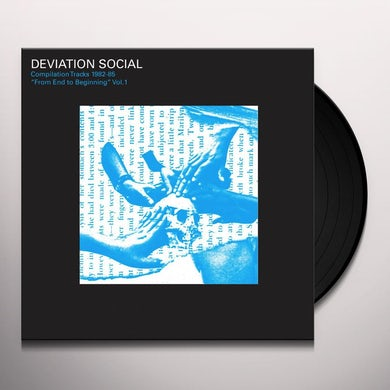 Deviation Social COMPILATION TRACKS 1982-85 FROM END TO VOL. 1 Vinyl Record