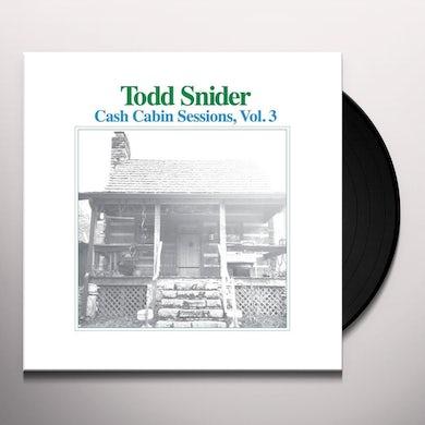 Todd Snider CASH CABIN SESSIONS 3 Vinyl Record