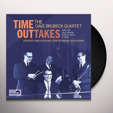 Dave Brubeck TIME OUTTAKES Vinyl Record