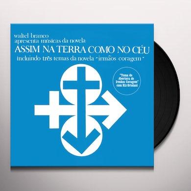 Waltel Branco ASSIM NA TERRA COMO NO CEU Vinyl Record