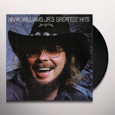 Hank Williams Jr. GREATEST HITS 1 Vinyl Record
