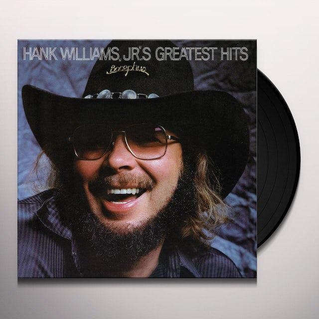 Hank Williams Jr Greatest Hits 1 Vinyl Record