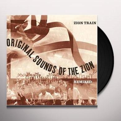 Zion Train ORIGINAL SOUNDS OF THE ZION REMIXED Vinyl Record - UK Release