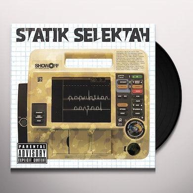 Statik Selektah POPULATION CONTROL Vinyl Record