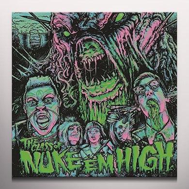 CLASS OF NUKE EM HIGH / O.S.T.   (DIGC) Vinyl Record - Black Vinyl, Green Vinyl