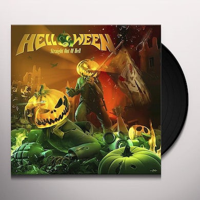 Helloween Straight Out Of Hell (Remastered 2020) Vinyl Record