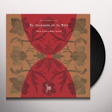 Michel Samson & Rebecca Samson CLAVIORGANUM & VIOLIN Vinyl Record