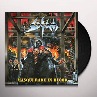 Sodom MASQUERADE IN BLOOD Vinyl Record